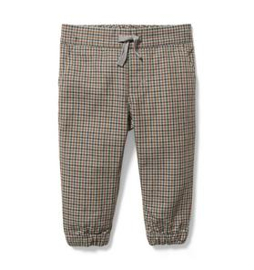 Baby Houndstooth Jogger