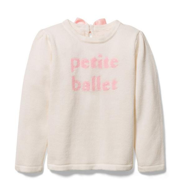 Petite Ballet Sweater