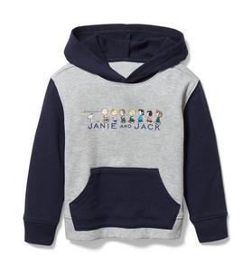PEANUTS™ Colorblocked Hoodie