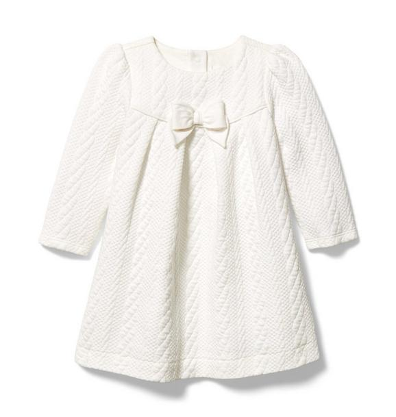 Baby Quilted Bow Dress