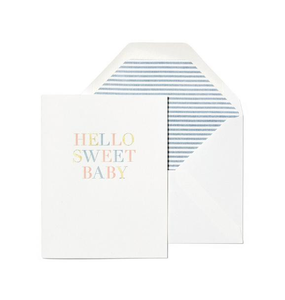 Sugar Paper Hello Sweet Baby Card