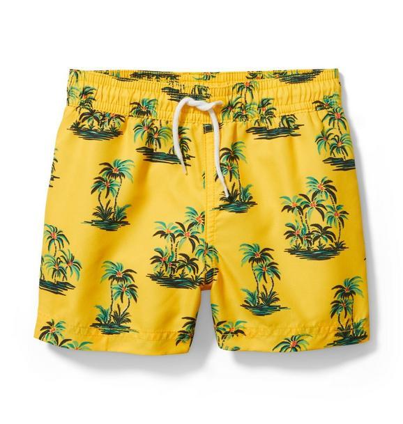 Palm Tree Swim Trunk
