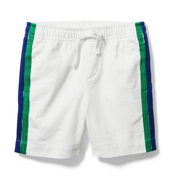 Side Stripe Pull-On Short