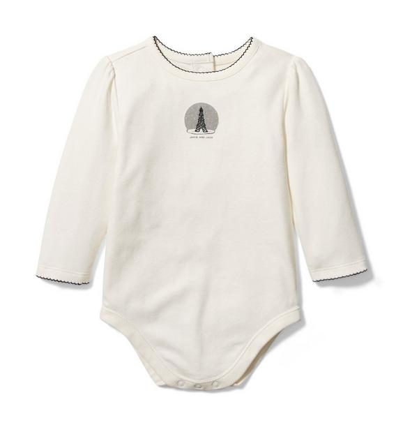 Baby Eiffel Tower Bodysuit