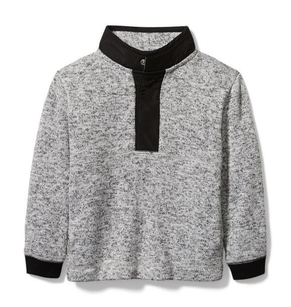 Brushed Fleece Sweater