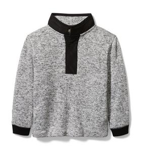 Brushed Fleece Sweater