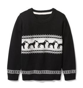 Dog Crewneck Pullover
