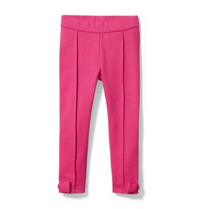 Bow Cuff Ponte Pant