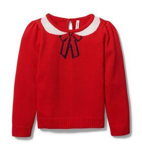 Bow Collar Sweater