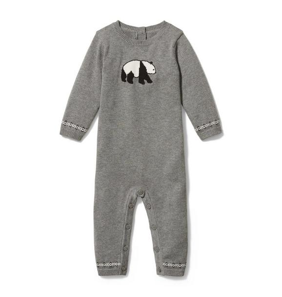 Baby Panda Sweater 1-Piece