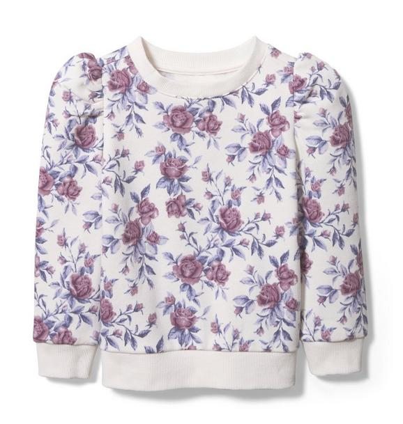 Janie and Jack Floral Sweatshirt