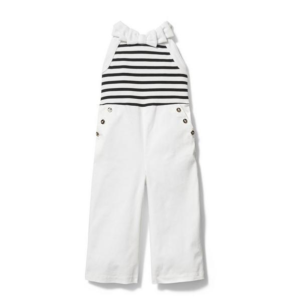 Sailor Striped Jumpsuit