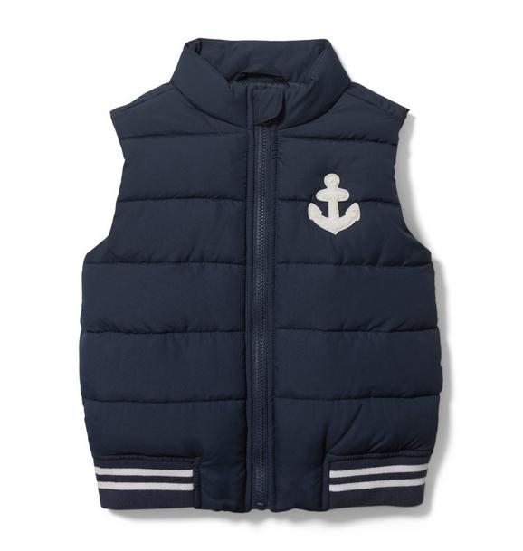 Anchor Puffer Vest
