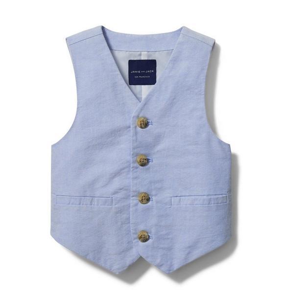 Oxford Suit Vest
