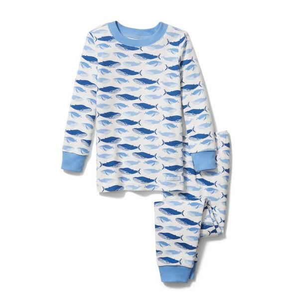 Whale Pajama Set