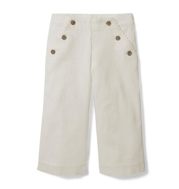 Wide Leg Corduroy Pant