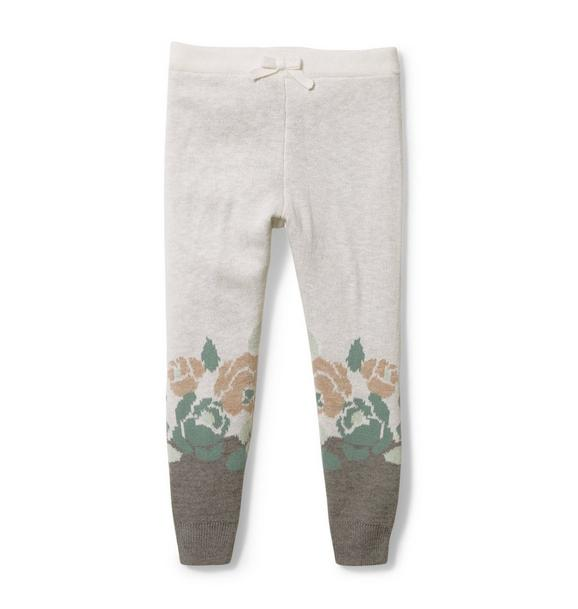 Floral Sweater Pant