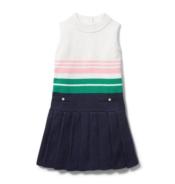 Stripe Sweater Dress