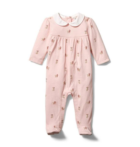Baby Puppy Footed 1-Piece