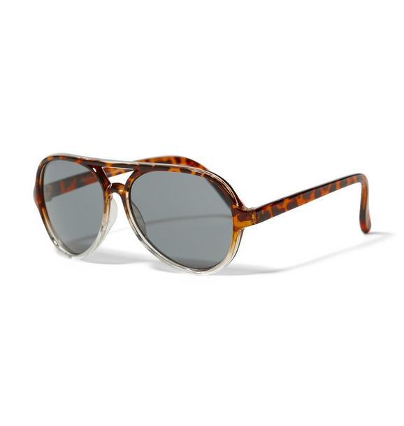 Tortoise Aviator Sunglasses