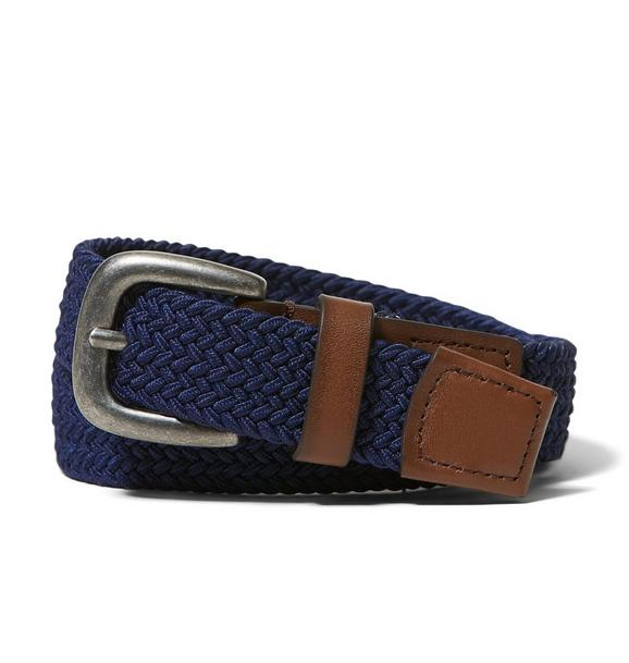 Leather Trim Belt