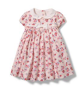 Baby Mini Floral Corduroy Dress