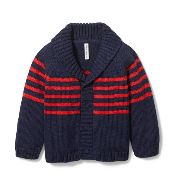 Baby Stripe Cardigan