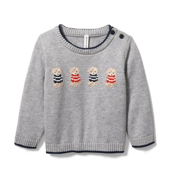 Baby Puppy Sweater
