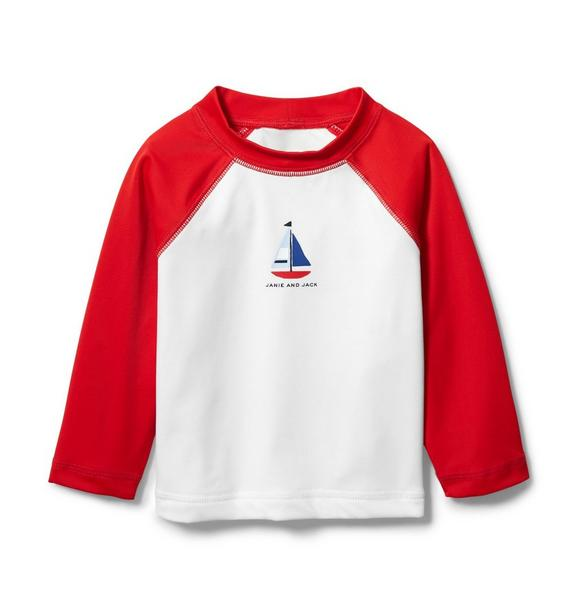 Baby Raglan Rash Guard