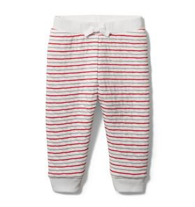 Baby Quilted Striped Jogger