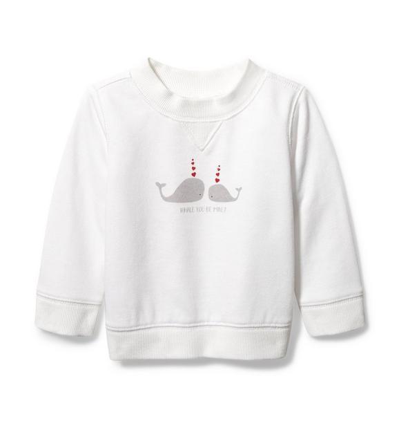 Baby Whale Sweatshirt