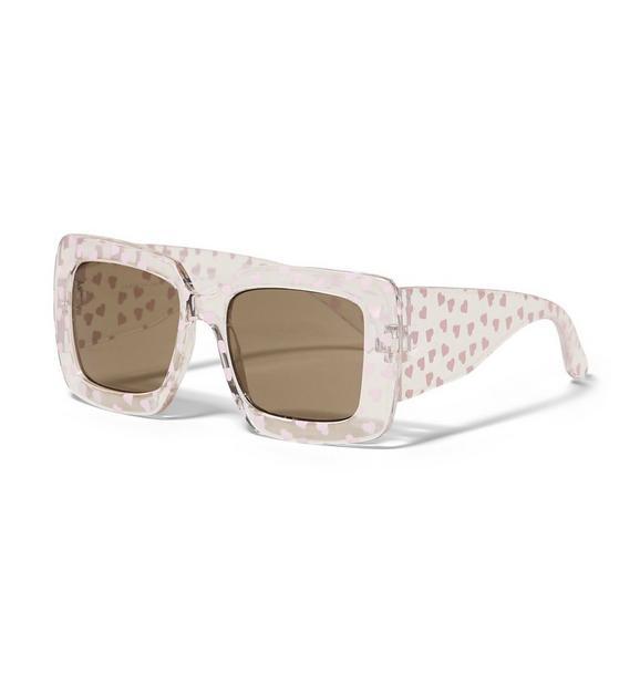 Square Heart Sunglasses
