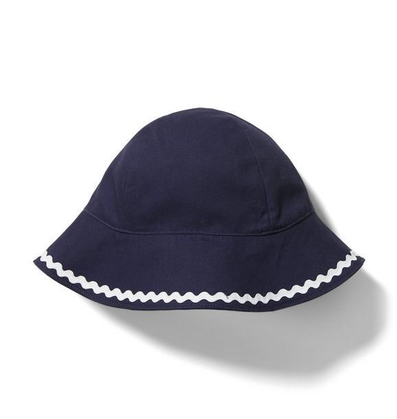 Ric Rac Bow Sun Hat