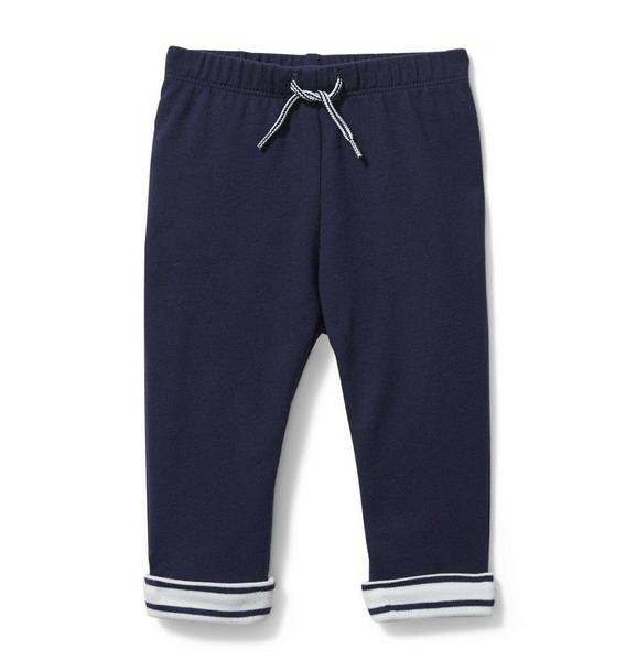 Baby Striped Cuff Pant