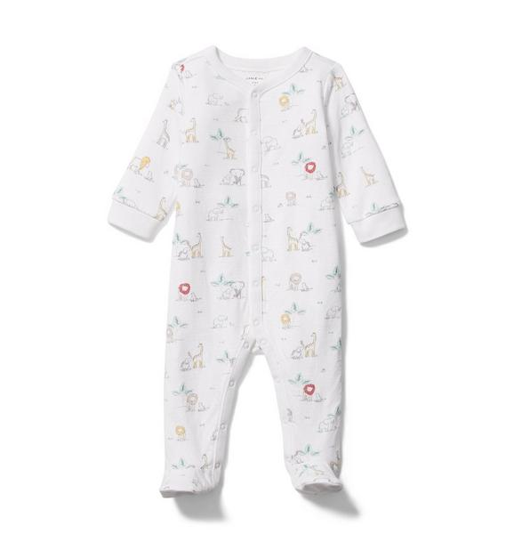 Baby Safari Footed 1-Piece