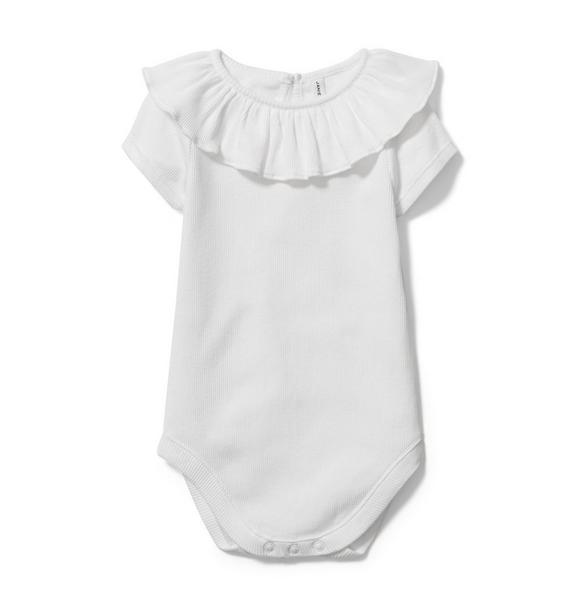 Baby Ruffle Collar Bodysuit
