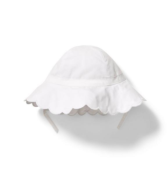 Scalloped Sun Hat