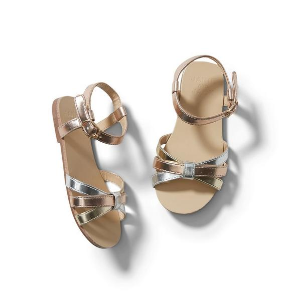 Metallic Sandal