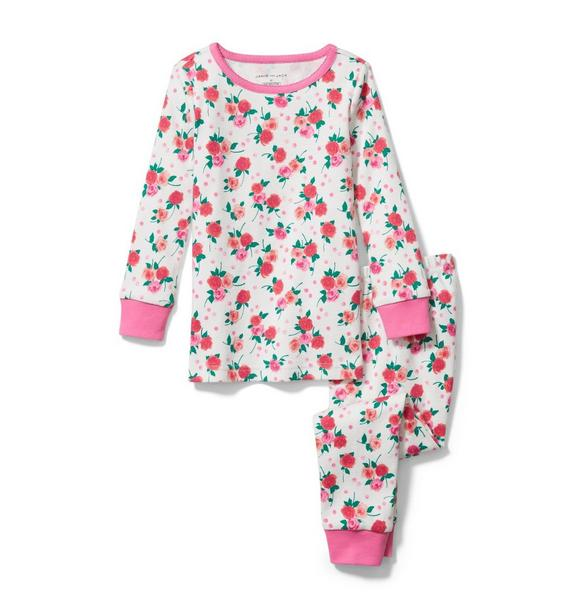 Rose Pajama Set