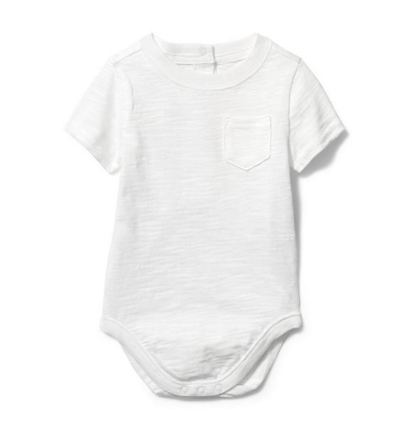 Baby Slub Pocket Bodysuit