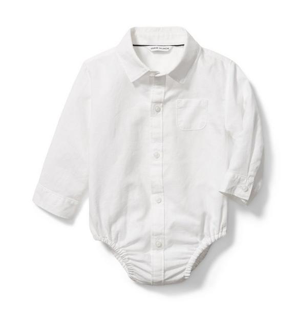 Baby Linen Bodysuit