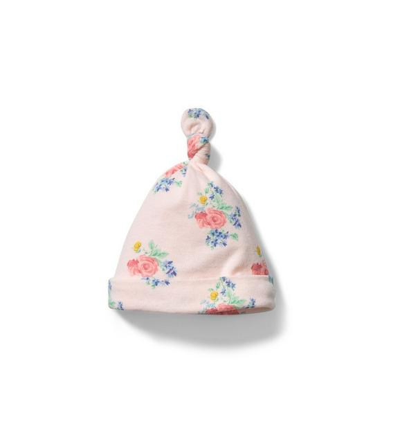 Baby Floral Knot Beanie