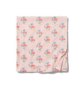Baby Floral Swaddle Blanket