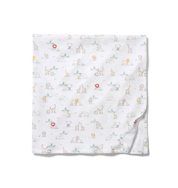 Baby Safari Swaddle Blanket