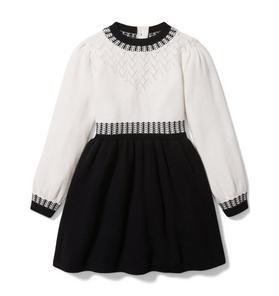 Colorblocked Sweater Dress