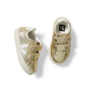 Kid Veja Esplar Gold Sneaker