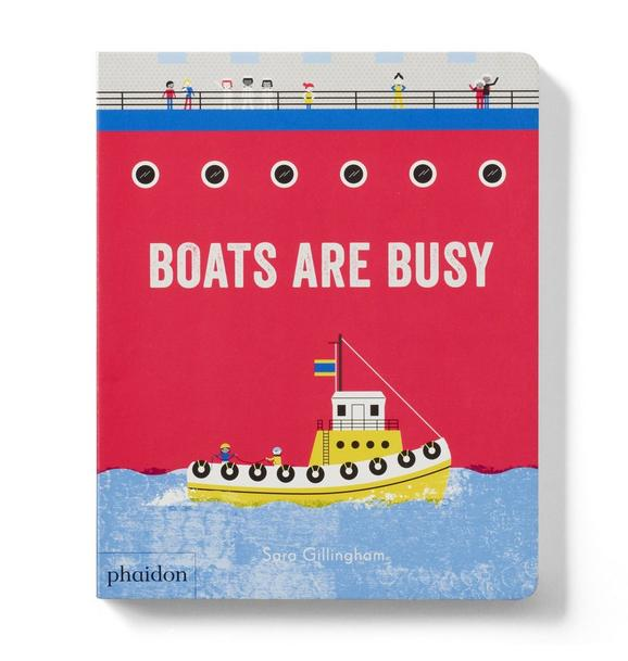 Janie and Jack Boats are Busy Book