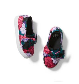 Kimberly Goldson Floral Bow Sneaker