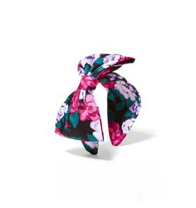 Kimberly Goldson Floral Bow Headband