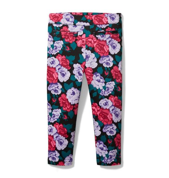 Kimberly Goldson Floral Tux Pant